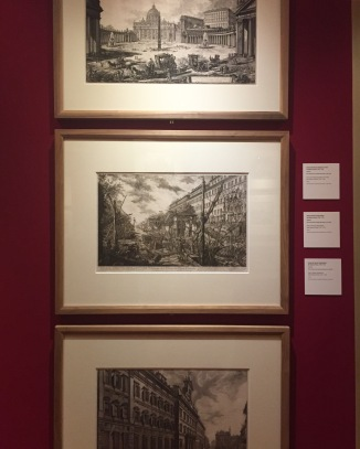 An amazing Piranesi exhibition we visited...